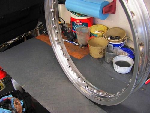 Polished Front Rim