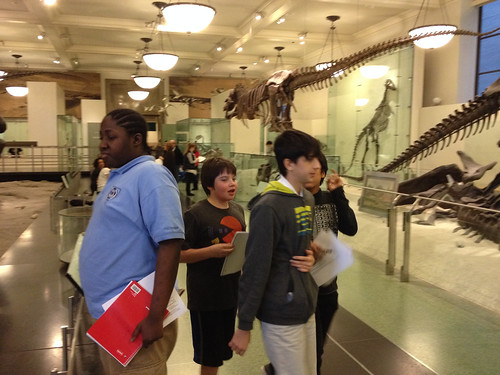Dino Day in Minecraft at the Museum