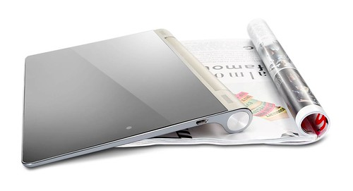 Yoga Tablet with Magazine
