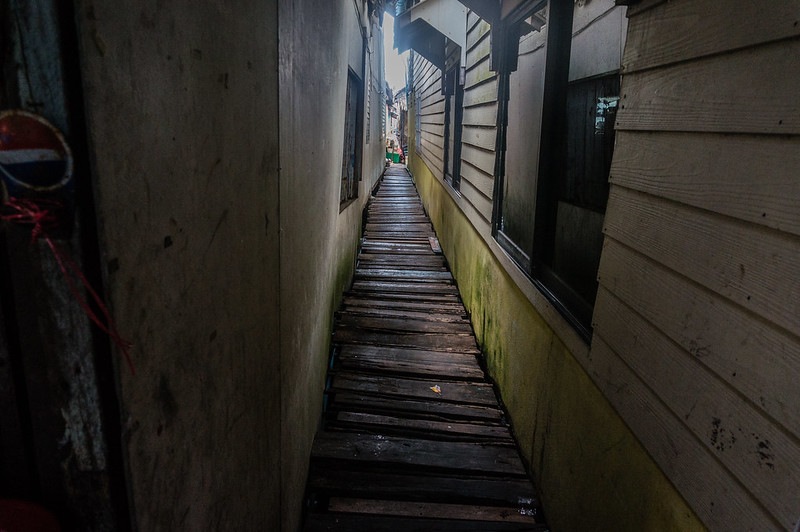 Alley, Koh Panyee, Thailand