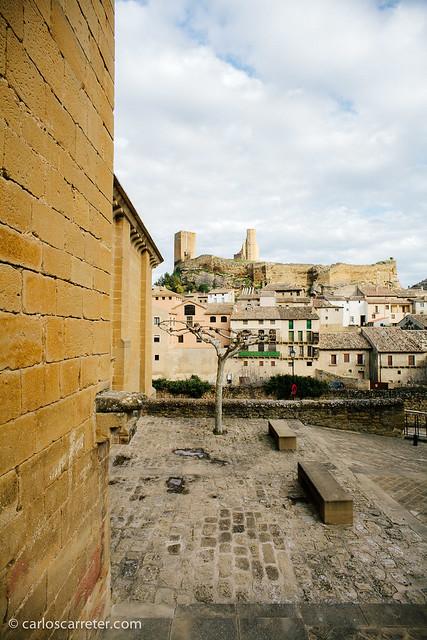 El castillo desde San Felices