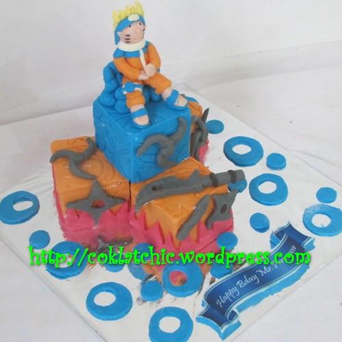 Miniature cake Naruto