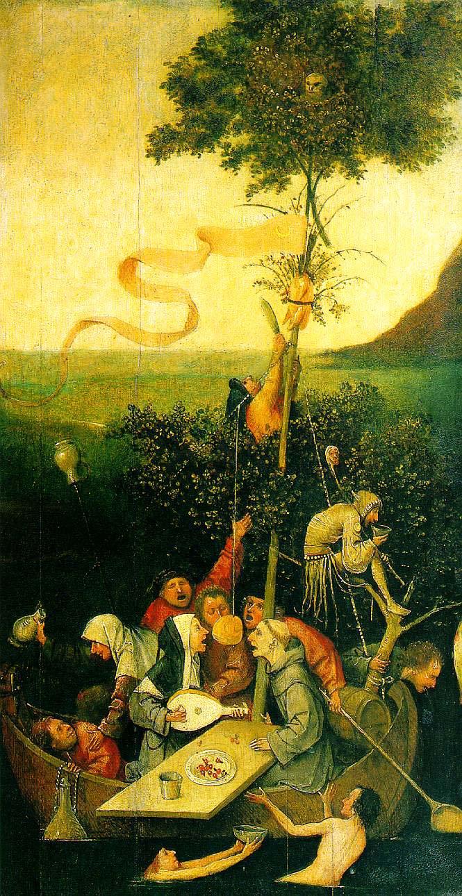 Hieronymus Bosch, Das Narrenschiff, ca. 1494-1510