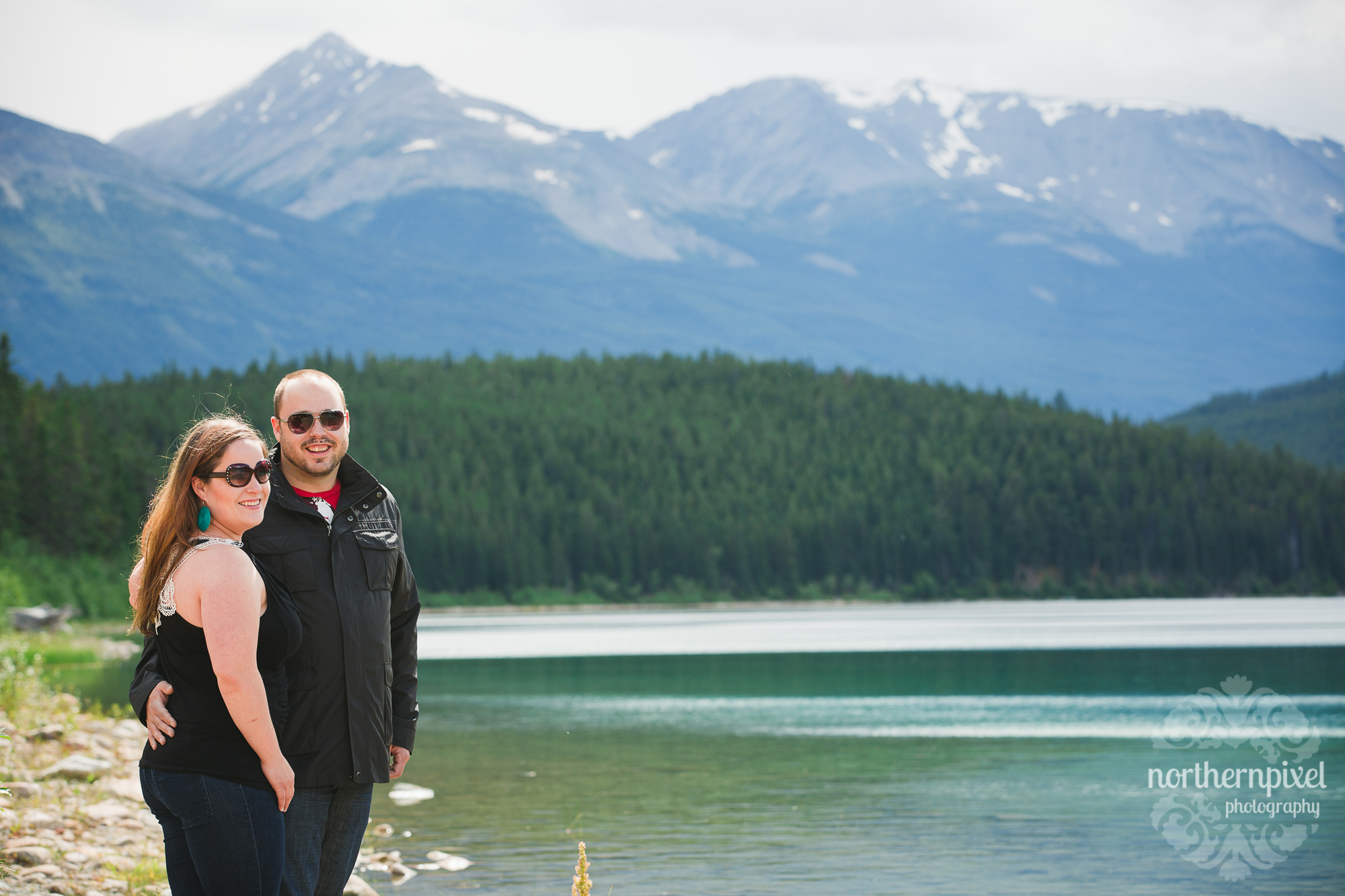Engagement Session at Patricia Lake