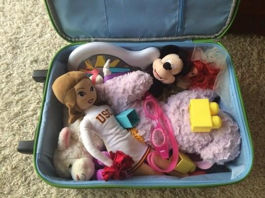annie's suitcase
