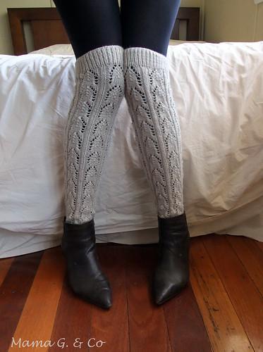 Lace legwarmers (4)