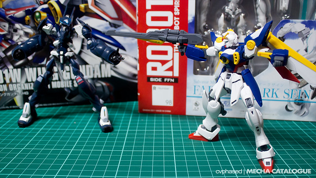 HGAC Wing Gundam - Completed Build