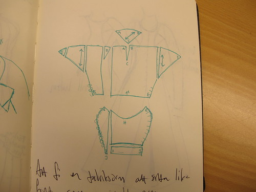 My gray Charles de Blois dress - 13