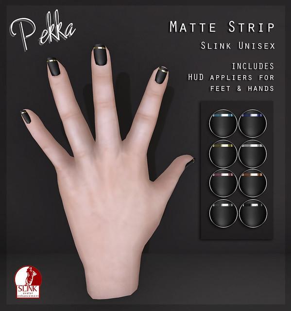 pekka matte strip nails