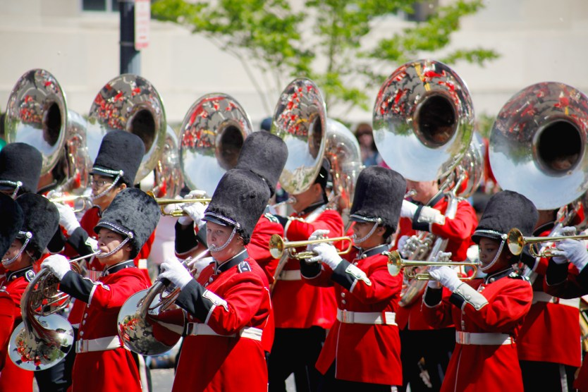 Band Cherry Blossom Parade.