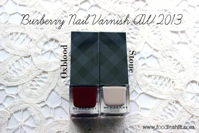 Burberry varnish
