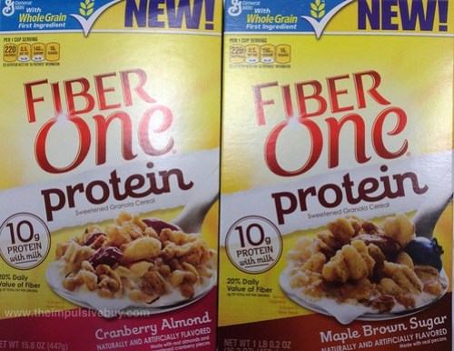 General Mills Fiber One Protein Cereal
