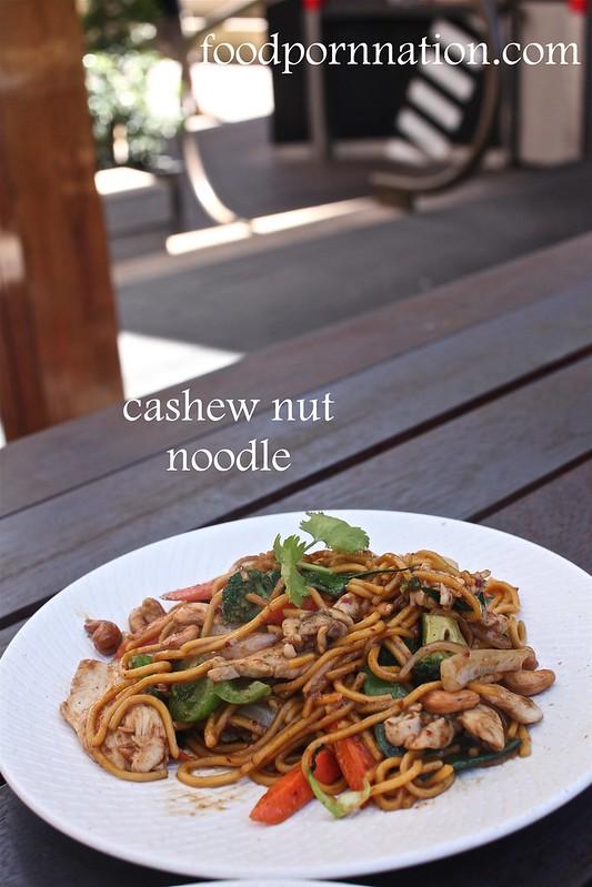 cashew nut noodle