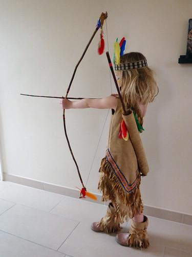 Frida as an Indian