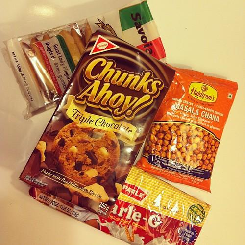 Couldn't resist! Bought random #snacks at #walmart #입이심심해#ivegotthemunchies