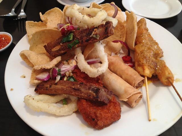 Mixed appetizer platter - Tuk Tuk Noodle Bar