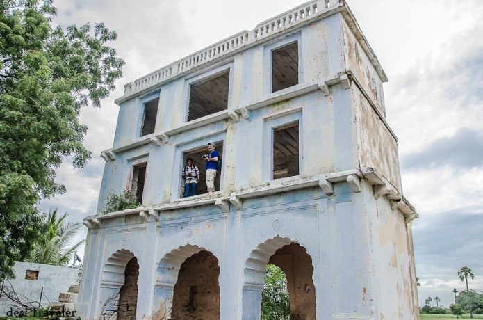 2 storied palace ammapalle temple shamshabad