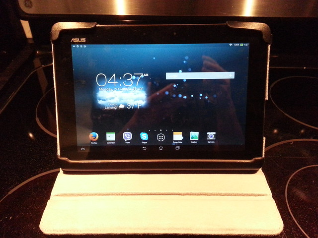 Asus Transformer Pad TF701T with Targus Cover
