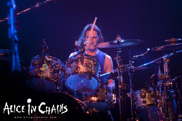Alice in Chains dummer Sean Kinney - Singapore Rock Fest 2014