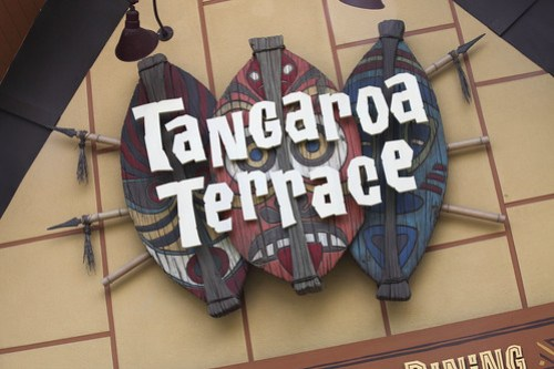 Tangaroa Terrace Sign