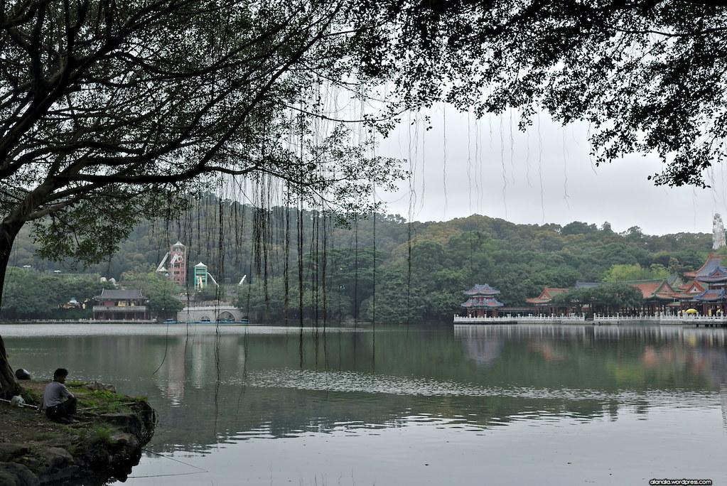 Lake at the palace