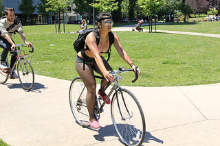 woman on bike 3