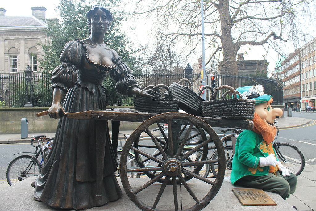 Molly Malone, Dublín