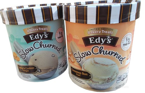 Edy's Limited Edition Bakery Treats Slow Churned Ice Cream