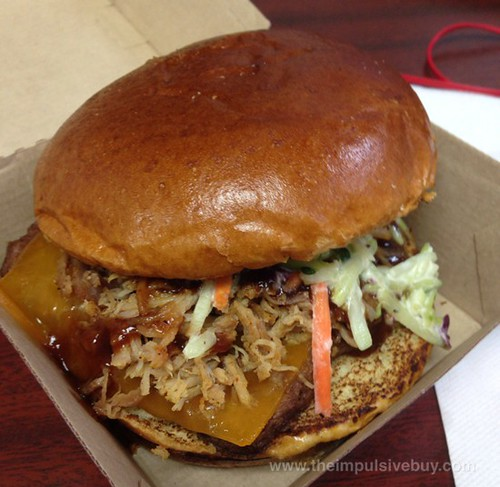 Wendy's BBQ Pulled Pork Cheeseburger