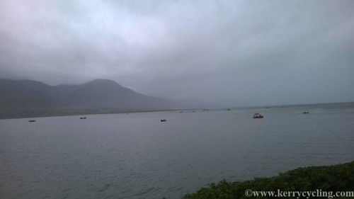 Oyster boats on Tralee Bay