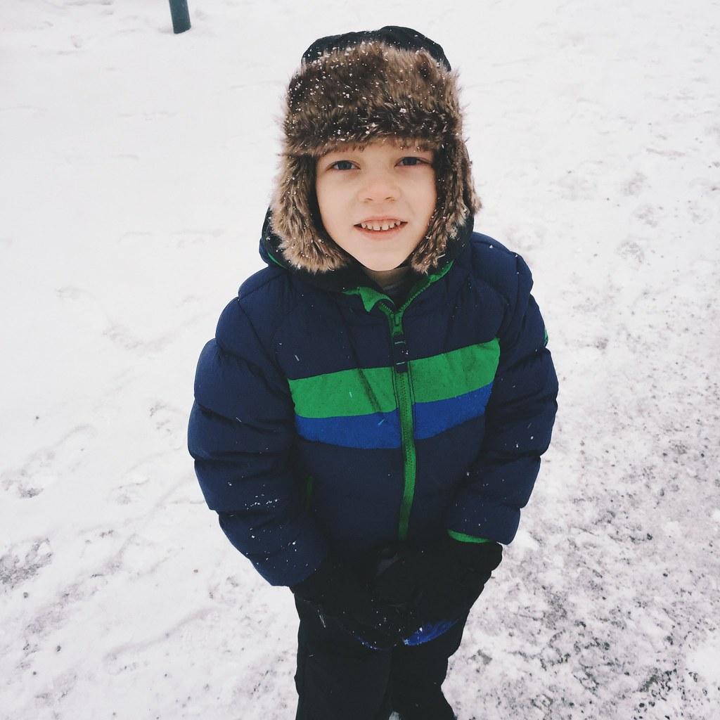 Snow Walking (2/4/15)