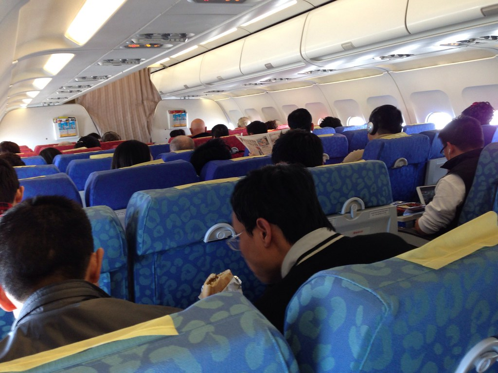 Economy Class onboard Dragonair