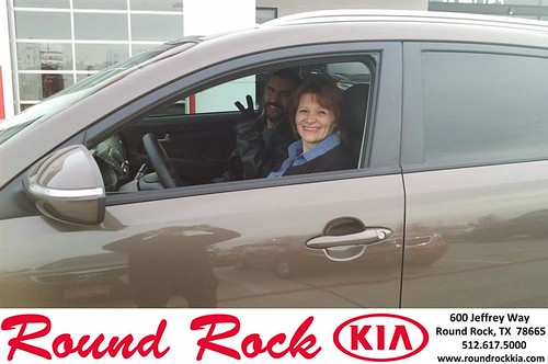 Thank you to Denise Lawson on your new 2013 #Kia #Sportage from Roberto Nieto and everyone at Round Rock Kia! #RollingInStyle by RoundRockKia