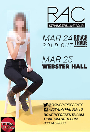 RAC, bowery presents, webster hall, audiofuzz