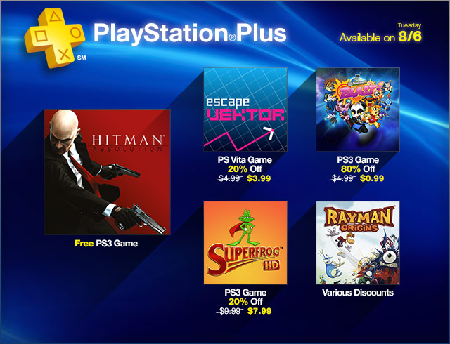 PlayStation Store Update 8-6-2013