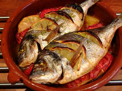 how to make sea bream fish