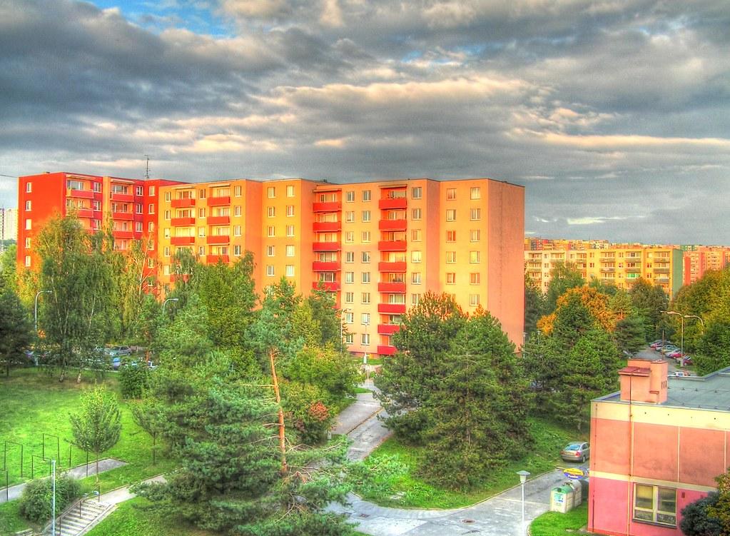 Housing Estate - Optimistic Version