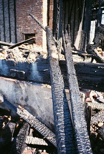 LeBeau Plantation, after the fire