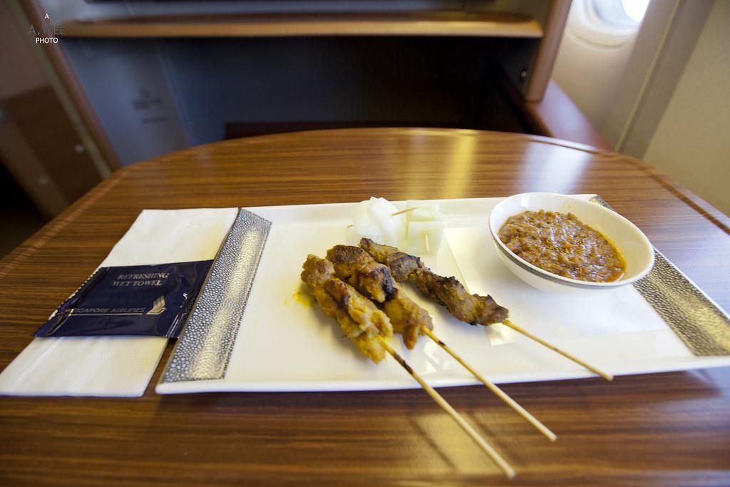 Satay as Pre-dinner Snack