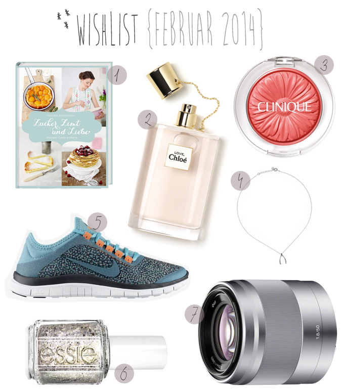 Wishlist Februar 2014