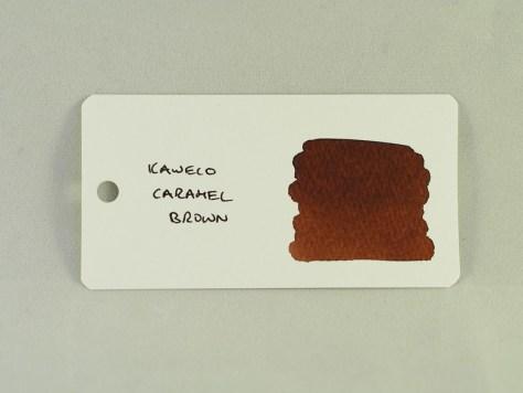 Kaweco Caramel Brown - Word Card