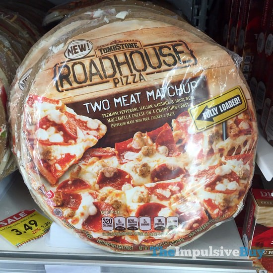 Tombstone Two Meat Matchup Roadhouse Pizza