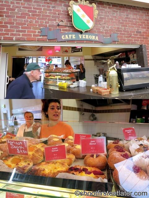 Queen Victoria Market- Cafe Verona
