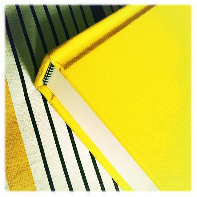new yellow sketchbook