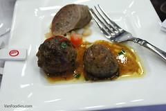 Beef Boules de Picolat and Saucisse de Toulouse