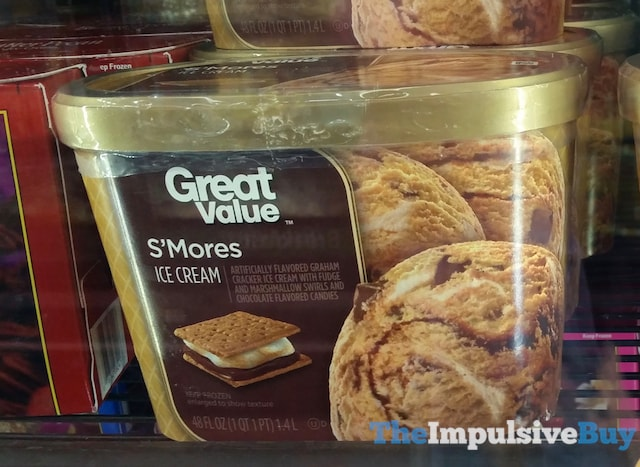 Great Value S'Mores Ice Cream