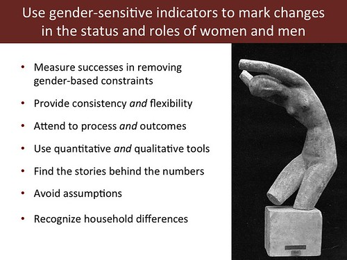 Slide 18: 'Women and Livestock', 7 Mar 2014