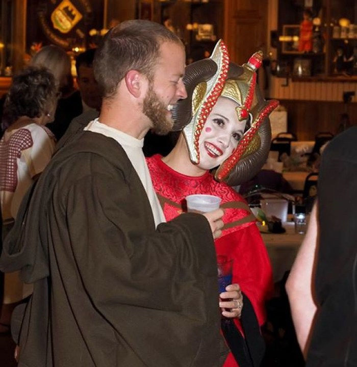 Jedi and Queen Amidala