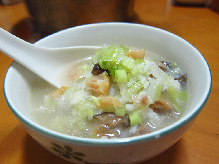 干貝香菇粥