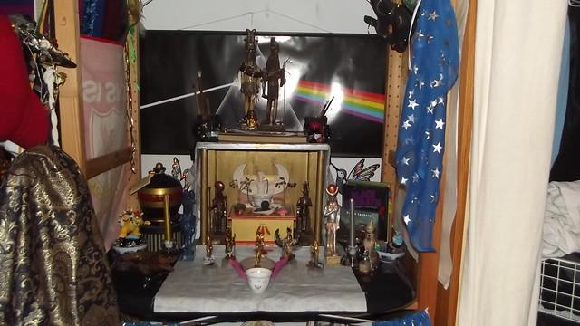 Sobek/Heru-sa-Aset shrine overview